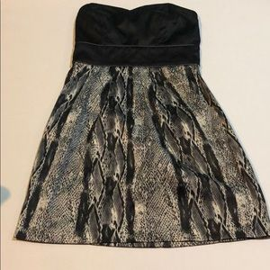 Trixxi black & grey design dress size 3